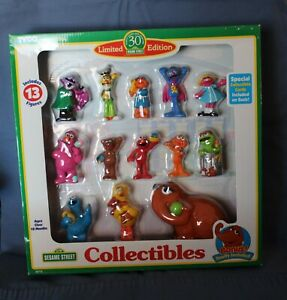 TYCO 1997 Limited Edition SESAME STREET 30th Anniversary Collectible Figures