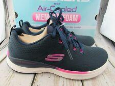 New ~ Women's Skechers Ultra Groove Navy / Pink Sneakers Size 8.5 ~ 149022