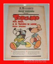 TOPOLINO supplemento IL MESSAGGERO Eta Beta e il tesoro di Mook I 26/5/1990