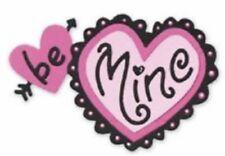NEW Sizzix Die Heart Be Mine Love Valentines Medium Sizzlits DieCut Scrapbooking