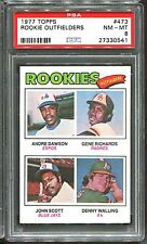 1977 Topps #473 Andre Dawson RC PSA 8 Centered HOF Montreal Expos