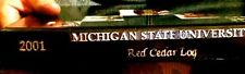 "2001  MICHIGAN STATE YEARBOOK""Red Cedar LOG"":  [E. Lansing} fine, used copy!"