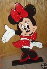 Minnie Mouse stand up children's birthday party decorations supplies - Red