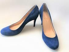 Ivanka Trump Blue Suede Stiletto Pumps High Heel Stiletto Shoes 7-1/2 Prom Party