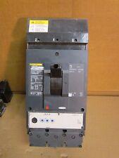 Square D LJA36600U33X Circuit Breaker PowerPact 3 Pole 600A 600V 65kA LJA36600
