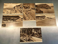 Vintage Pre-First World War Sidmouth Photochrom Postcards unused 6 cards