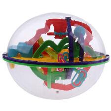 208 barreras 3d laberinto laberinto juguete bola cubo rompecabezas para
