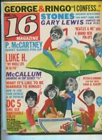 16 Magazine June 1965 Vol.7 #1 VG Peter & Gordon  Aron Kincaid Gary Lewis MBX92