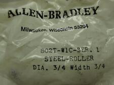 Allen Bradley 802T-W1C Dia. 3/4 x 3/4 STEEL ROLLER
