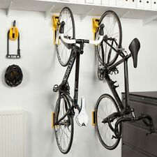Cycloc Endo Vertical Wall Mounted Flat Folding Bike Storage Holder Rack YELLOW