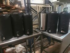More details for 6 x olympia stainless steel beverage dispenser / coffee urn