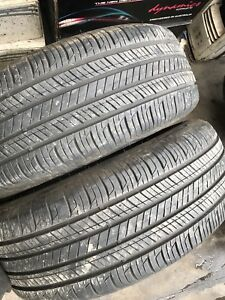 225 60 17   ( 2 TYRES ) HANKOOK VERY VERY GOOD CONDITION SEE PHOTOS CHEAP