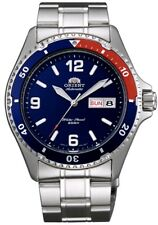 Orient FAA02009D Men's Red Blue Bezel Mako II Stainless Steel 200M Diver Watch