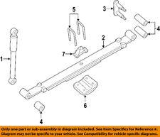 NISSAN OEM 04-15 Titan Rear Suspension-Shackle 55220ZR00B
