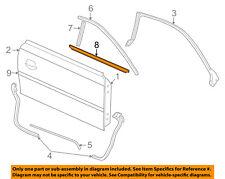 FORD OEM Mustang Door-Window Sweep Belt Molding Weatherstrip Right XR3Z6321452AA