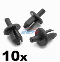 10x Volvo Plastic Trim Clips- For Bumpers, Sills, Shields Covers, Linings & Trim