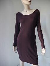 GAIA-Kleid NEU L dunkles Rot Tencel Viskose Modal Elasthan