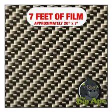 Hydrographic Film Carbon Fiber Transparent 7 X 20 Hydro Dip Dipping