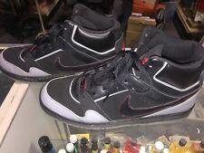 Nike Air Prestige III High Mens Size13 Black/Black-Stealth-Sport Red