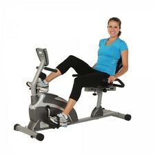 Bike Magnetic Recumbent Exercise Fitness Exerpeutic Capacity High Workout Resist