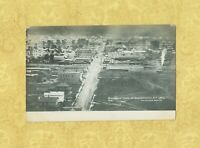 NY Salamanca RARE postcard BIRDSEYE VIEW OF 1882 FROM 1908-1919 New York