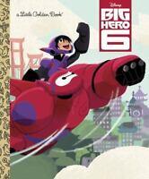 Little Golden Book: Big Hero 6 by Random House Disney Staff (2014, Picture Book)