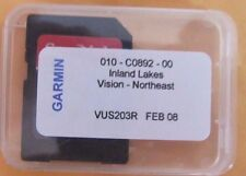 Garmin Inland Lakes Vision North East micro card maps
