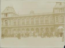 Belgique, Bruxelles, Gare du nord  Vintage citrate print Tirage citrate  9