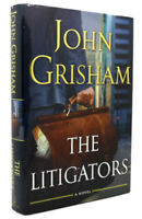 The Litigators by John Grisham Signed Copy 1st edition Hardcover Novel