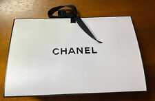 Chanel Origami Signature Gift Box With Ribbon & Tissue 9x5.5x3 Inches