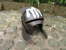Lord of the Rings Uruk Hai Orc Helmet 3D Printed Cosplay Prop 1.1 Scale.