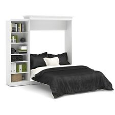 Versatile by Bestar 92'' Queen Wall bed kit in White