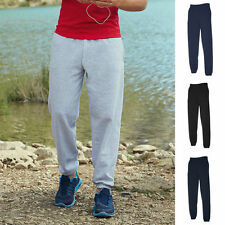 Herren Jogginghose Fruit of the loom Sporthose Freizeithose Hose elast Bund