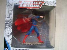 SUPER HEROS NEUF EN BOITE SCHLEICH SUPERMAN  JUSTICE LIGUE 10 CM SUR SOCLE