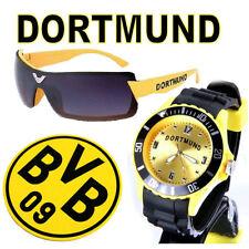 Dortmund Armbanduhr + Dortmund Sonnenbrille + BVB 09 Borussia Bierdeckel  ( W1 )
