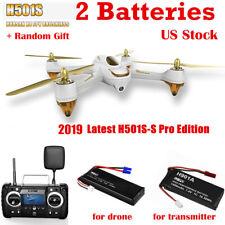 Hubsan H501S X4 Pro Drone FPV GPS Quadcopter Brushless 1080P HD Camera White RTF