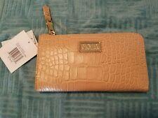 NWT BADGLEY MISCHKA Women's Zip Around Clutch Wallet  / Sandstorm $185