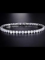 Tennis bracelet Premium Quality ladies crystal diamante bangle with free gift **