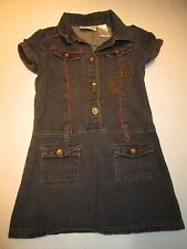 Carter's black jean dress, size 6X