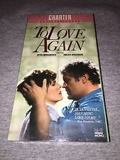 To Love Again (VHS) Lynn Redgrave and Brian Dennehy Brand New Sealed