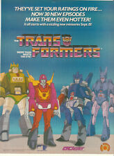 The Transformers Trans Formers 1986 Ad- new episodes make them even hotter!