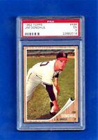 1962 Topps Baseball CARD #498 JIM DONOHUE PSA 5 EX L.A. ANGELS