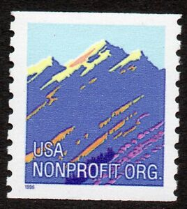 2903a (5c) Mountain coil tagged in error MNH