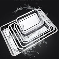 Stainless Steel Jelly Roll Cookie Baking Sheet  Oven Pan Kitchen Tray