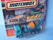 Matchbox Mercedes Actros Cement Mixer Green 110mm Working Rigs Toy Model Truck