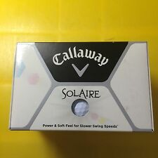 """24 BOLAS DE GOLF """" NUEVAS"""" CALLAWAY SOLAIRE"""