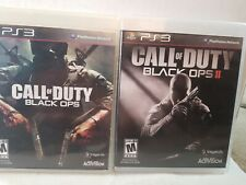 Call of Duty Black Ops Playstation PS3 & Black ops II