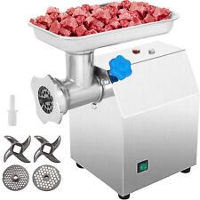 Vevor Commercial 115hp Electric Meat Grinder 270lbsh Sausage Stuffer Filler