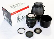 Canon EF 70-300mm f/4.5-5.6 IS USM DO Lens - Great working condition with extras