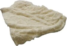 Extrasuave Crema gruesa grande Fleece Throw Manta 150x200cm #duc